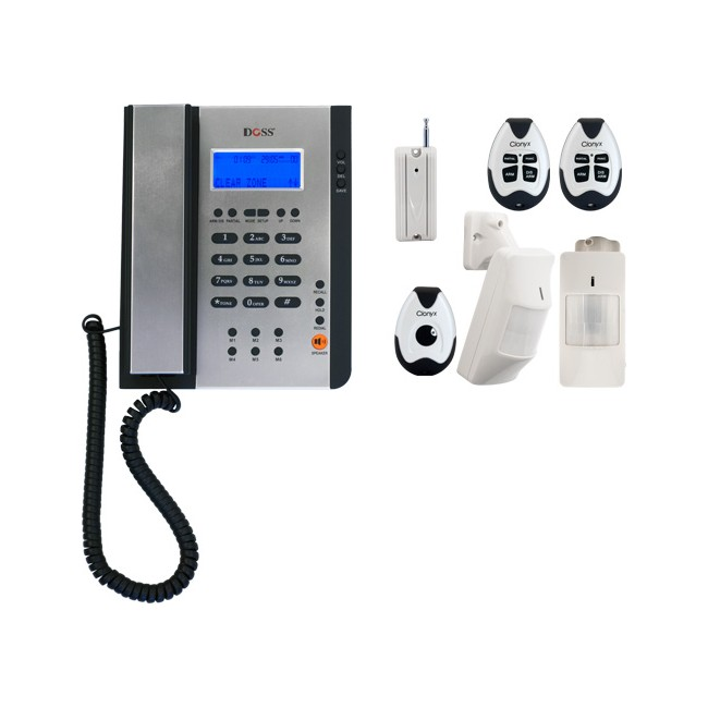 WDA-KIT WIRELESS ALARM PHONE SYSTEM