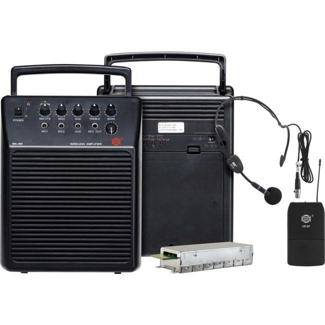 WA380/UB8P UHF PORTABLE PA SYSTEM
