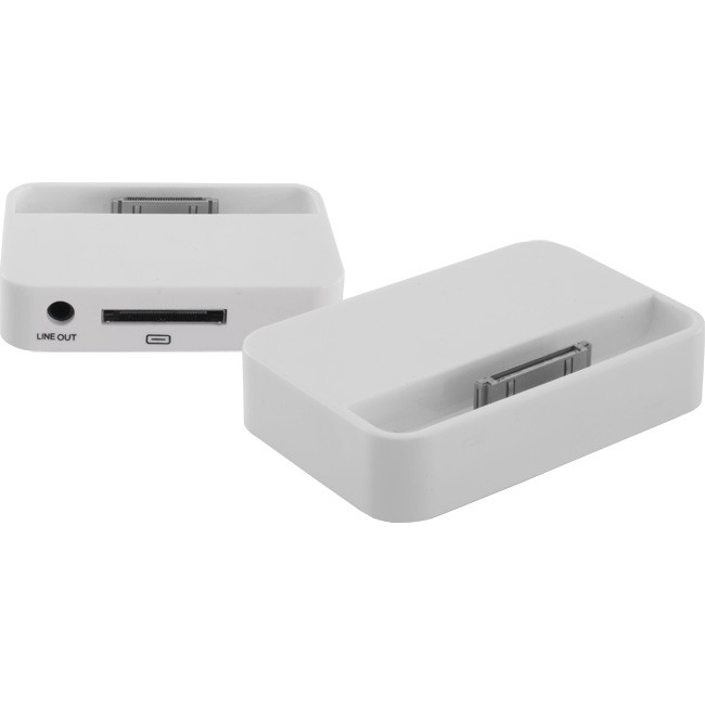 4GDOCKW IPHONE AUDIO/CHARGING DOCK WHITE