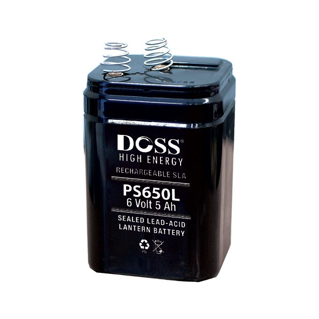 PS650L 6V 5AMP DOSS LANTERN BATTERY