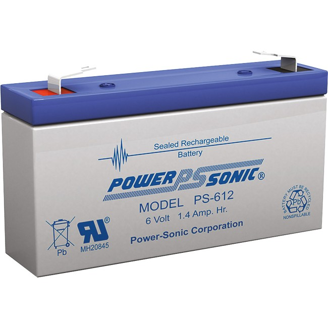 D1.2-6V 6V 1.2AMP DOSS SLA BATTERY
