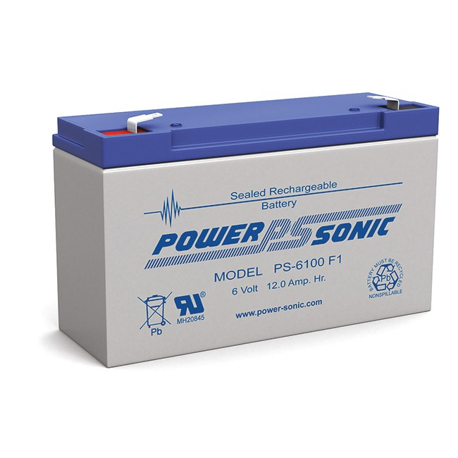 D12-6V 6V 12AMP DOSS SLA BATTERY