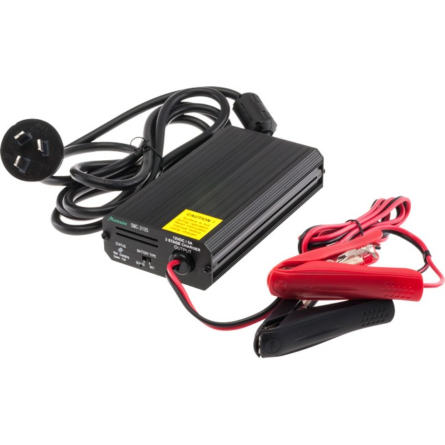 SBC2105 12V 5A SLA BATTERY CHARGER
