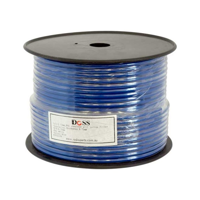 2X23.12 BLUE AUDIO / MIC CABLE