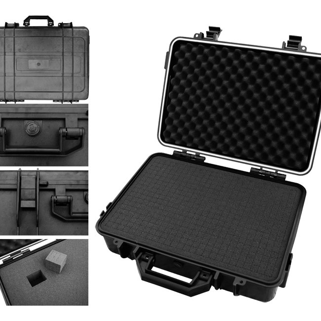 TC43WP WATERPROOF ABS TOOL CASE WITH FOAM INSERT