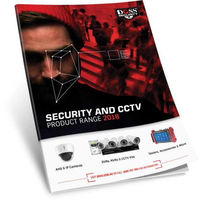 DOSS-SEC2018 – 2018 SECURITY & CCTV BROCHURE