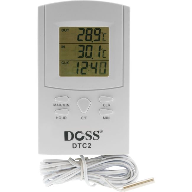 DTC2 DIGITAL THERMOMETER & CLOCK