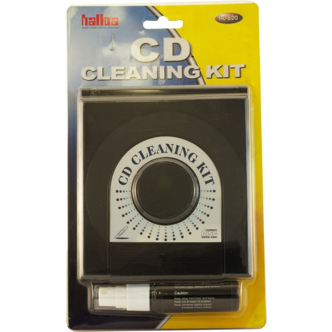 CD21 CD & DVD DISC CLEANER KIT