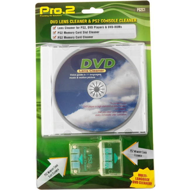 PS2C1 PS2 & DVD LASER / LENS CLEANER