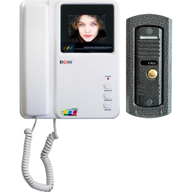 DCL4MC 3.5″ COLOUR VIDEO DOOR PHONE