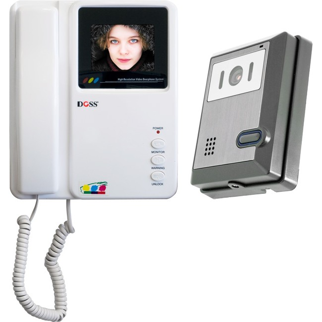 DCL4PC COLOUR LCD VIDEO DOOR PHONE