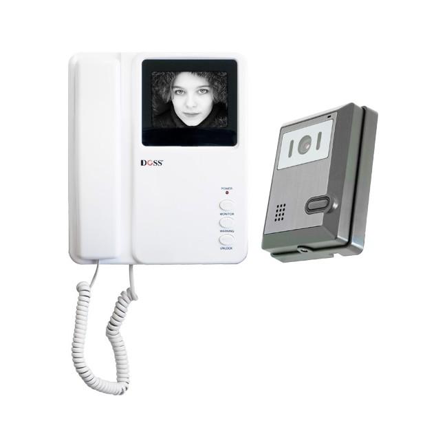 DBW4PC B&W CRT VIDEO DOOR PHONE DOSS