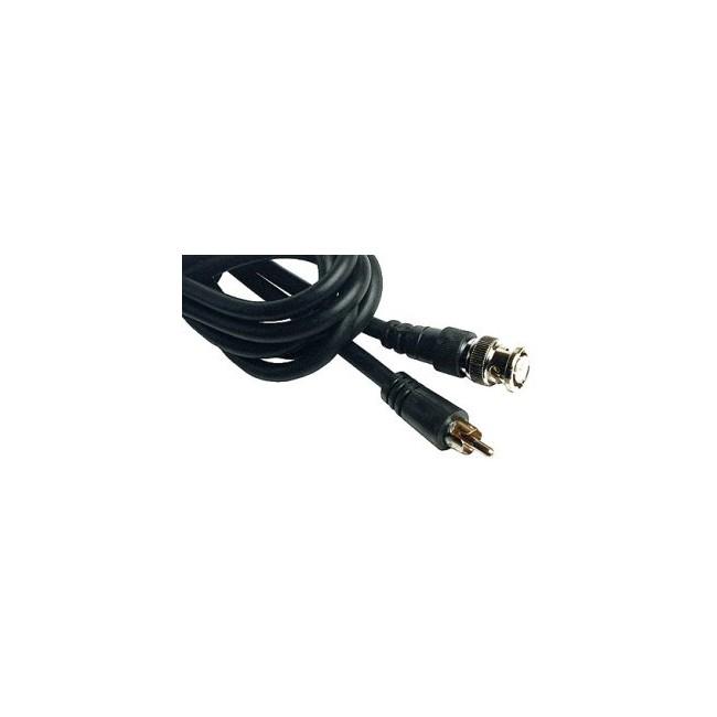 LV1008 – 2METRES – BNC PLUG TO RCA PLUG