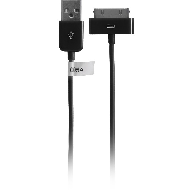 IPLEAD1B – 1METRE – USB-A PLUG TO IPOD LEAD BLACK