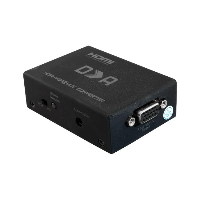 HVY01 HDMI TO VGA COMPONENT CONVERTER