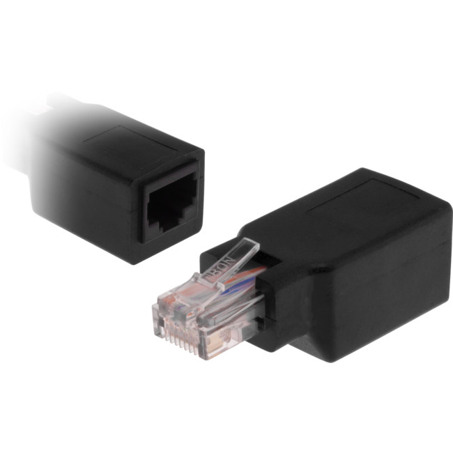 PK4040 RJ45 CAT5 CROSSOVER ADAPTOR