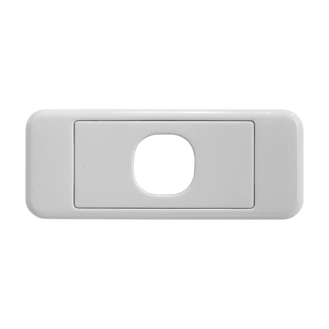 PK4576 1 GANG ARCHITRAVE PLATE
