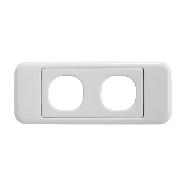 PK4578 2 GANG ARCHITRAVE PLATE