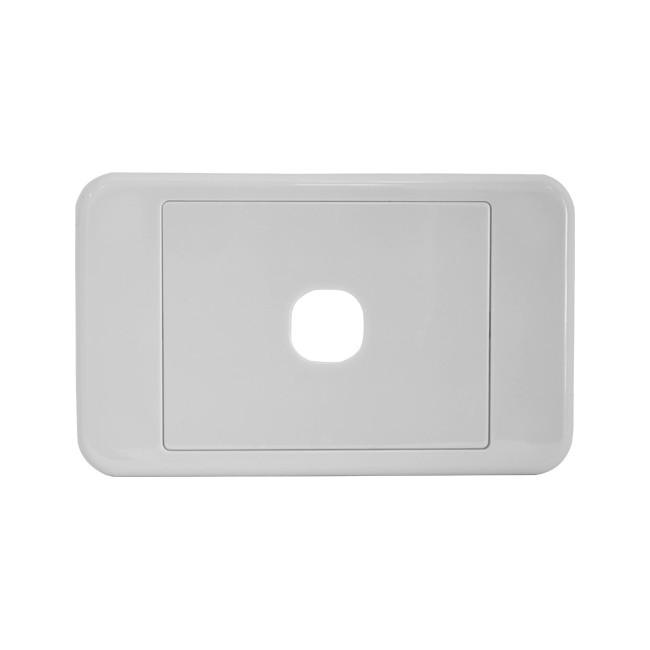 PK4580 1 GANG WALL PLATE