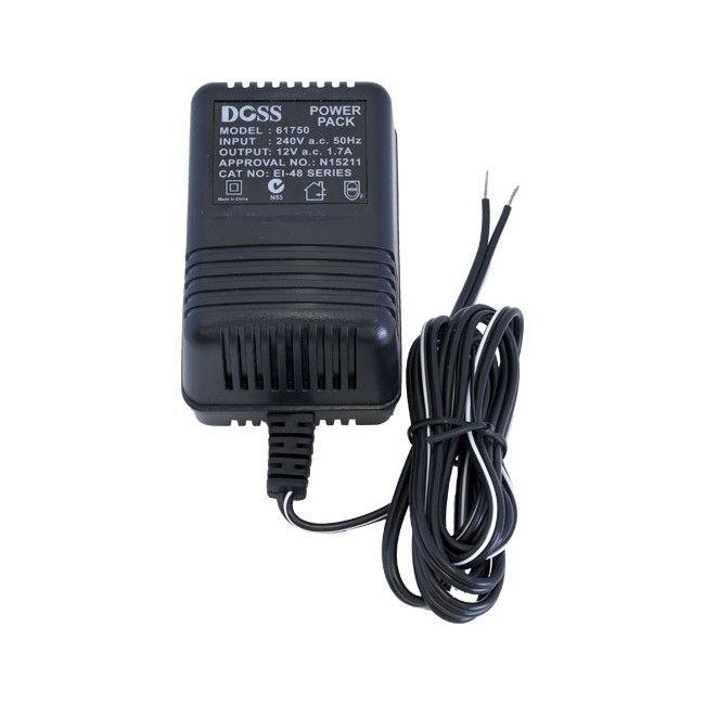 AC1217 12VAC 1.7A AC POWER SUPPLY