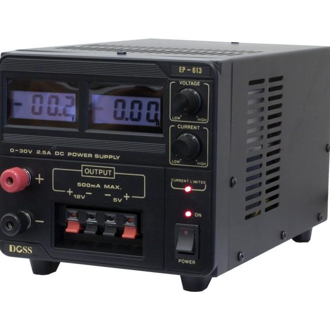 EP613 2.5AMP 0-30V DC POWER SUPPLY