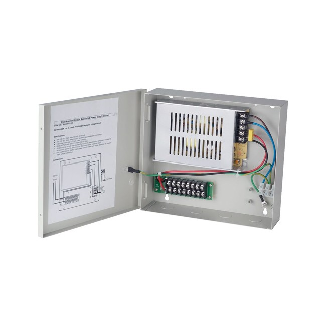 PW408S-12R 4A 8 PORT DC12V REGULATED POWER SUPPLY