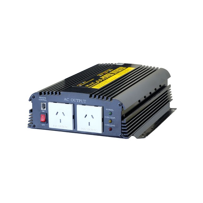 PIN1200 1200W 12vDC – 240vAC INVERTER