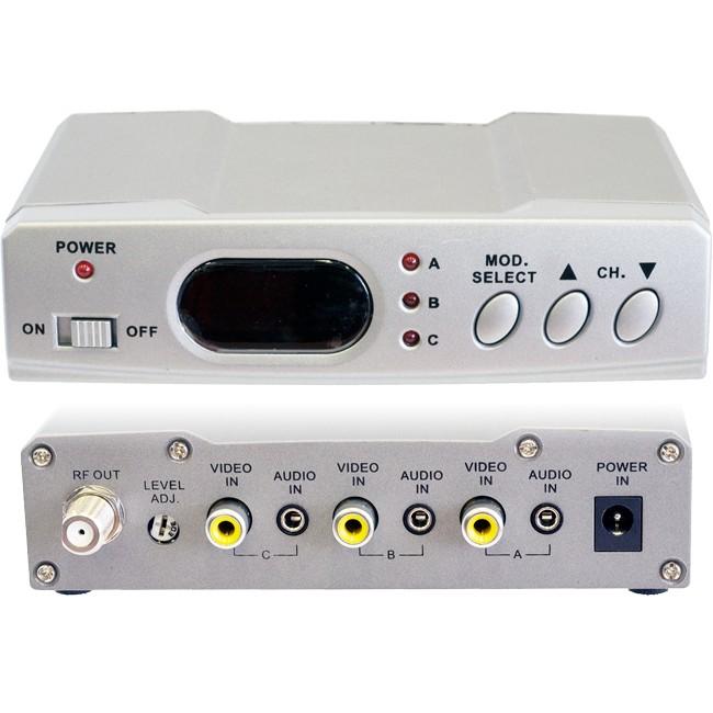 RFMX3 3 INPUT RF MODULATOR
