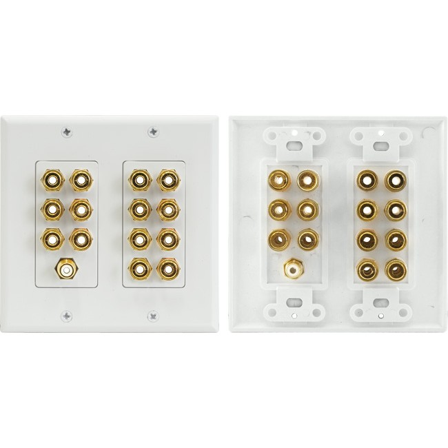 PRO1144A 7.1 HOME THEATRE WALL PLATE