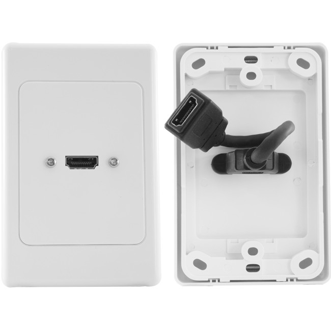 HDMI1FLEX HDMI WALL PLATE