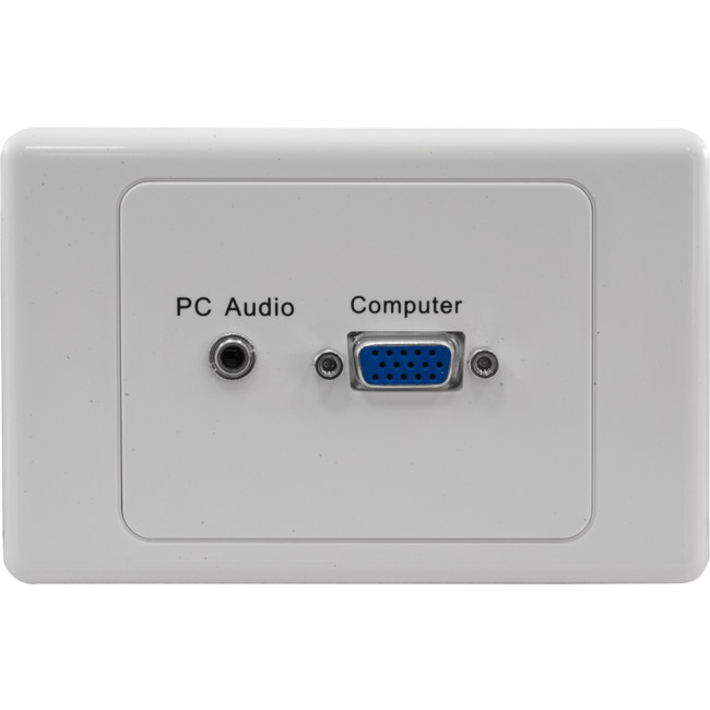 PK3309 VGA & 3.5MM WALL PLATE – RIGHT