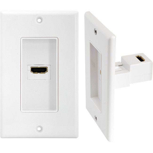 PRO1181 SINGLE HDMI WALL PLATE