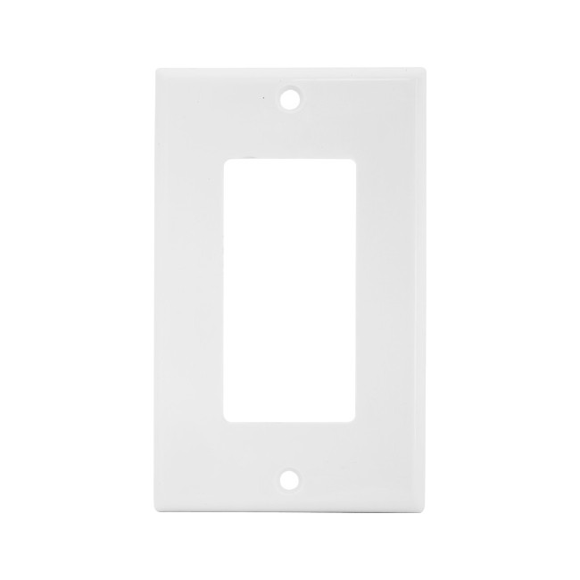 PRO1024 BLANK WALL PLATE WITH CUTOUT