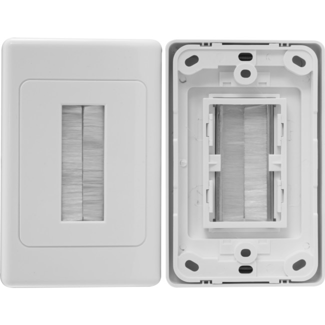 PRO1272 SINGLE GANG BLANK WALL PLATE