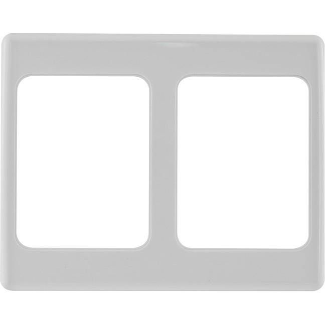 PRO1153 2 GANG COVER WALL PLATE CUTOUT