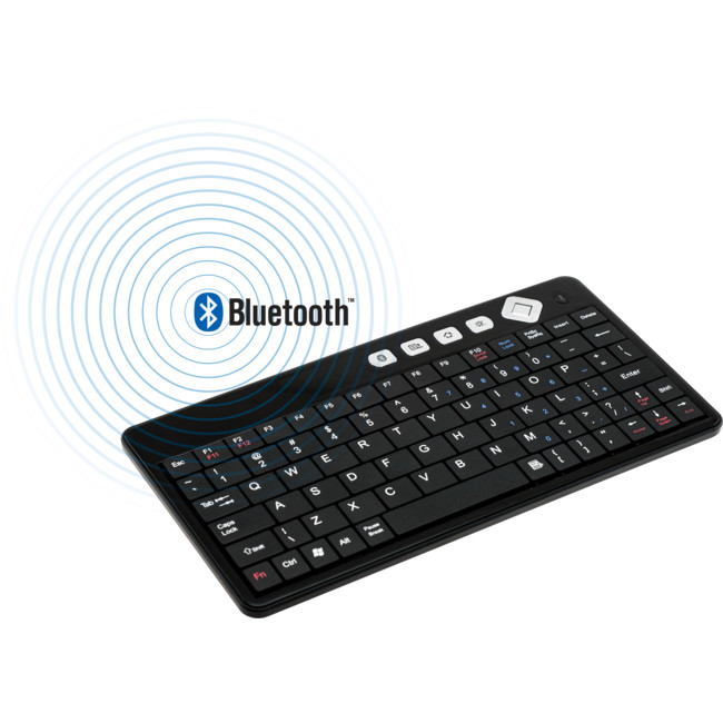 MBK01B MINI BLUETOOTH KEYBOARD FOR IPAD2 BLACK