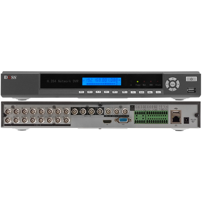 Discontinued: RPDVR Series – H.264 D1 RECORDING NETWORK DVRS