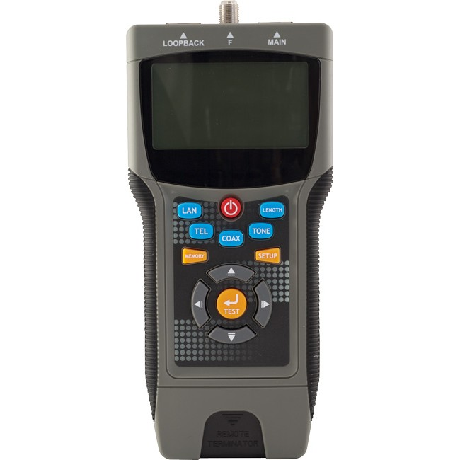 LCT8 PRO LAN CABLE TESTER LOCATES DISTANCE TO THE FAULT