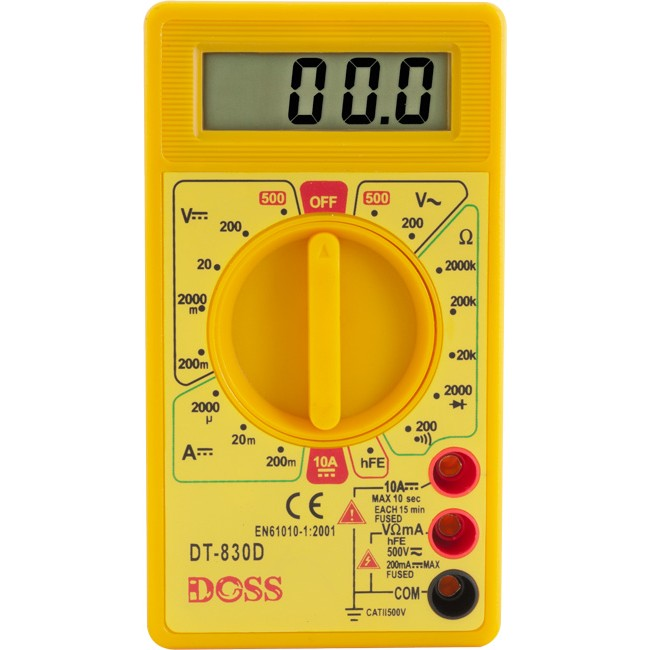 DM150 BASIC DIGITAL MULTIMETER
