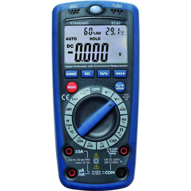 ST61 6 IN 1 DIGITAL MULTIMETER WITH