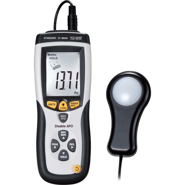 ST8809A LIGHT METER W/LCD DISPLAY USB