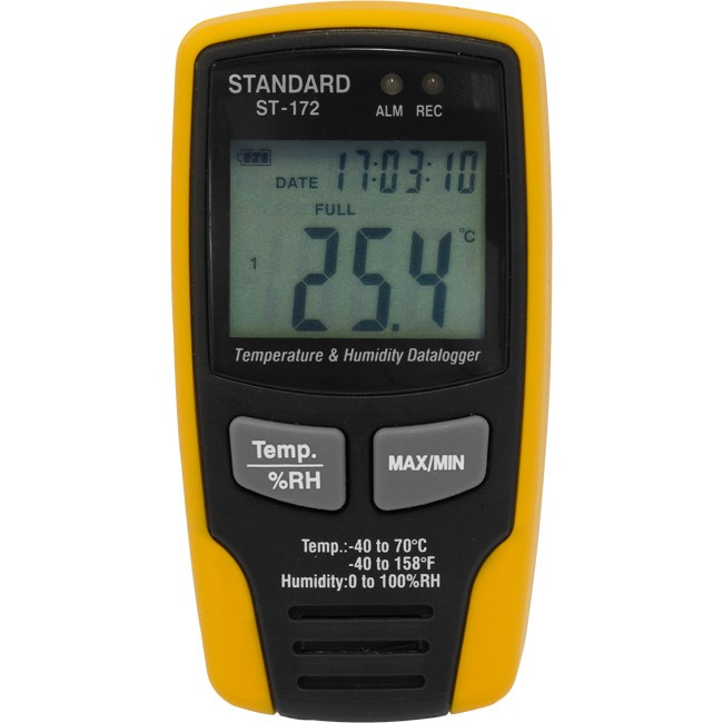 ST172 TEMPERATURE AND HUMIDITY DATALOGGER