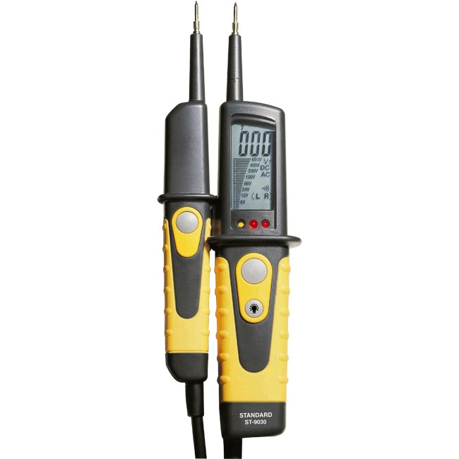 ST9030 2 POLE VOLTAGE TESTER WITH LCD
