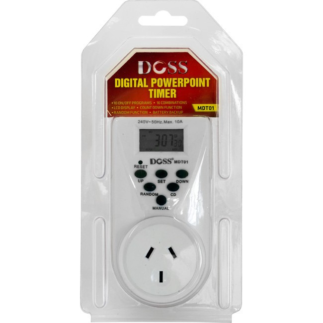 MDT01 24HR MAINS DIGITAL TIMER