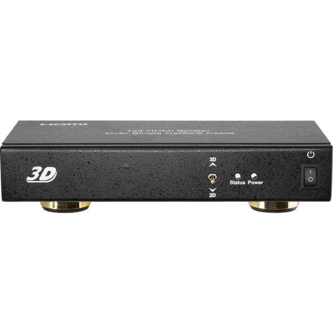 H4SPC5B 4-WAY HDMI SPLITTER OVER CAT5/6