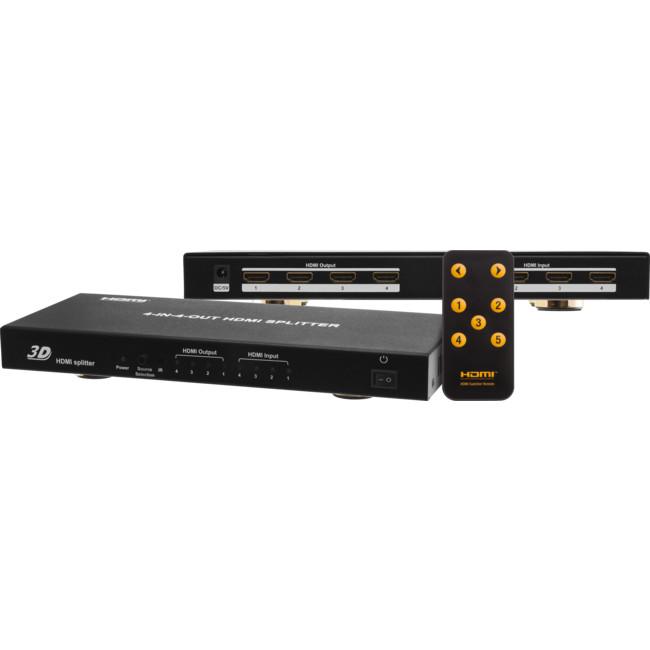 HDMI44 4-IN-4-OUT HDMI SPLITTER