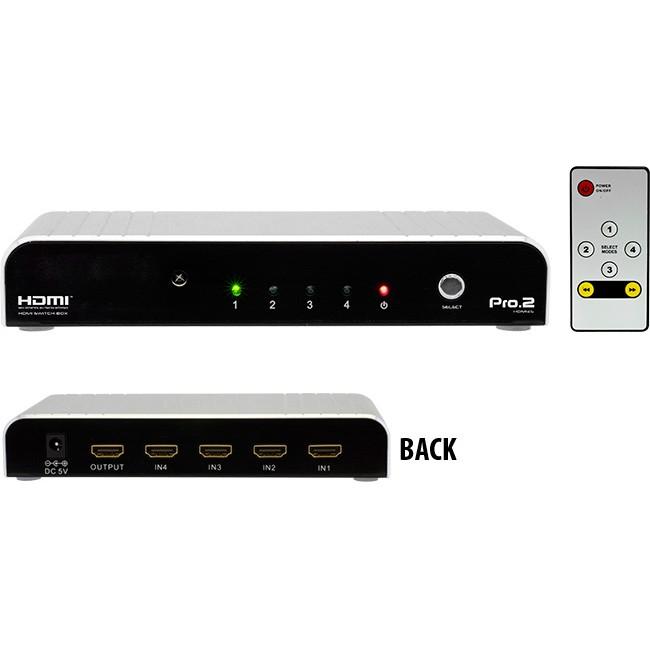 HDMI4S 4 WAY HDMI SELECTOR PRO2