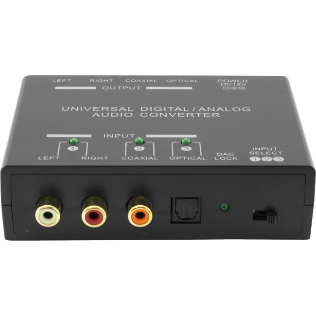 PRO1298 UNIVERSAL DIGITAL ANALOG AUDIO CONVERTER