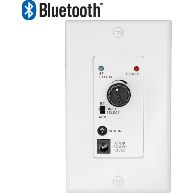 PRO1351WP AUDIO AMPLIFIER WALL PLATE WITH BLUETOOTH