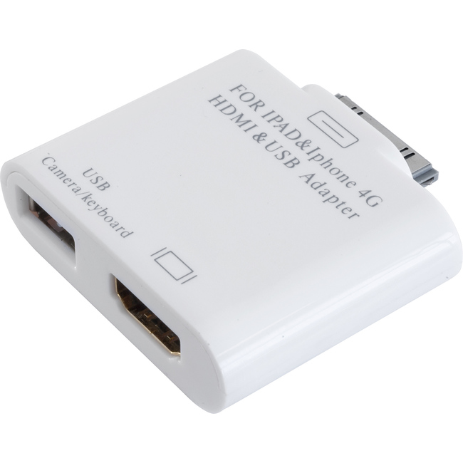 IPDHDMI HDMI ADAPTOR FOR IPAD IPHONE